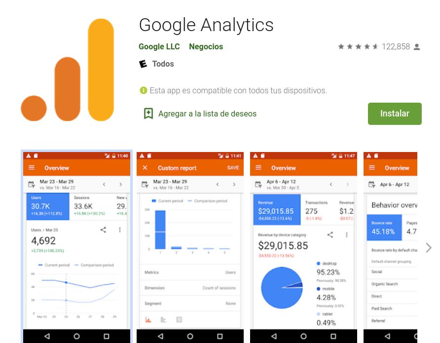 Las mejores apps para marketing online en Android