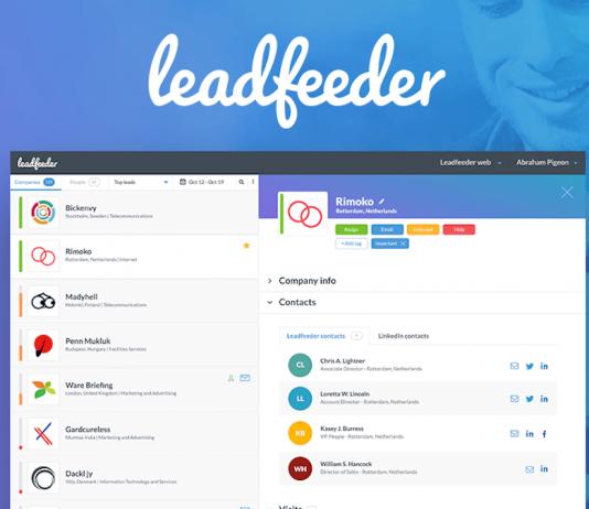 ¿Cómo saber quién visita tu web con Leadfeeder?